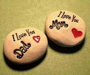 love, dad, and mom image