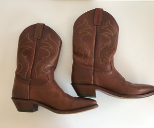 boots, cowboy boots, and etsy image
