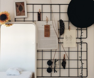 bedroom, fall, and decor image