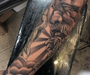 Tattoos, greek history, and sleeve tattoos image