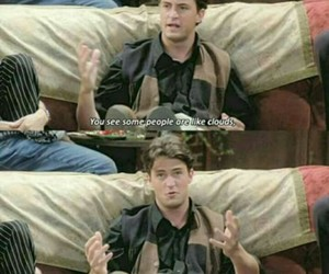 friends, chandler, and quote image