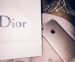 dior, iphone, and pink image