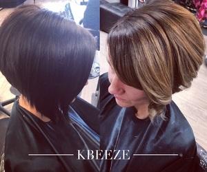 hair, balyage, and color image