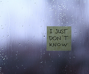 rain, words, and quote image