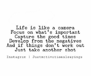 capture, focus, and quote image