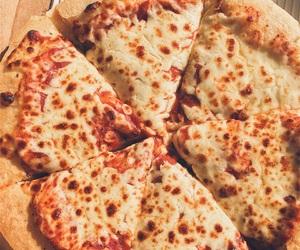 eat, paris, and pizza image