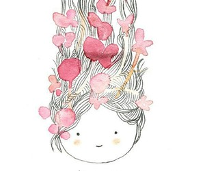 girl, cute, and art image