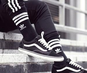 adidas, socks, and vans image