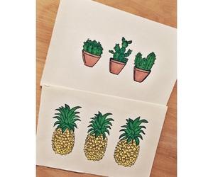 art, beautiful, and cactus image