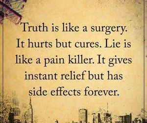 lie, life, and pain image