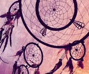 background, dreamcatcher, and pink image