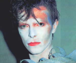 art, bowie, and old image