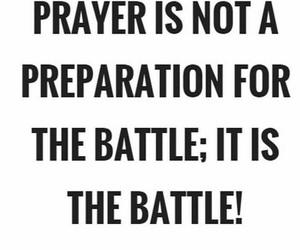 battle, faith, and god image