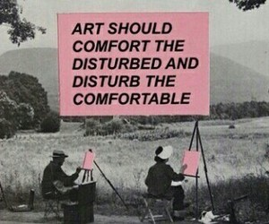 phrase and art image