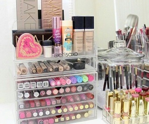chicas, color, and maquillaje image