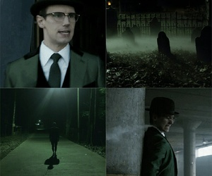 aesthetic, dark, and DC image