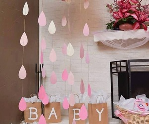 baby and baby shower image