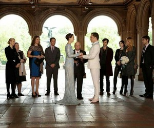 gossip girl, wedding, and chuck bass image