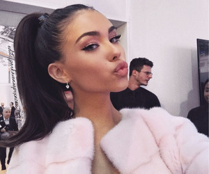 madison beer, pink, and madison image