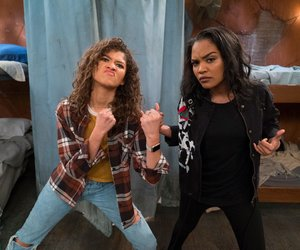zendaya, china anne mcclain, and kc undercover image