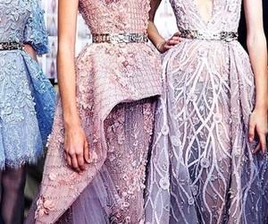 dress, purple, and lavender image