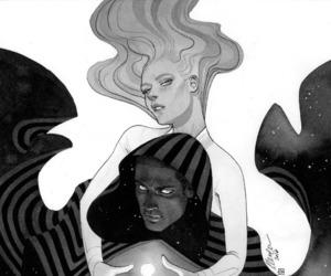 comics, commission, and Marvel image
