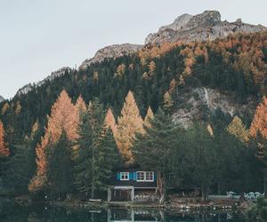 nature, beautiful, and lake image