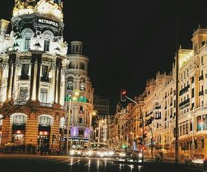 ciudad, madrid, and metropolis image