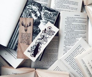 bookmarks, books, and literature image