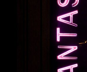 fantasy, neon, and pink image