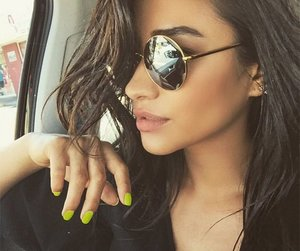 beauty, make up, and shay mitchell image
