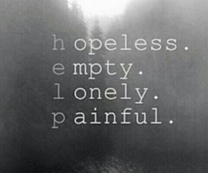 empty, help, and hopeless image