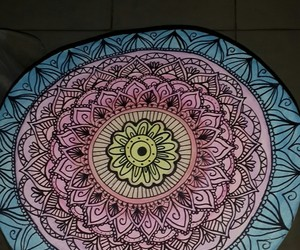 arte, color, and mandala image