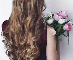 chicas, cabello, and peinados image