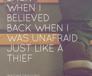 music, imaginedragons, and thief image