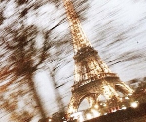 beautiful, eiffel tower, and french image