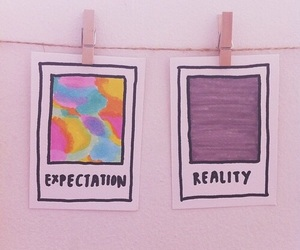 expectation and reality image