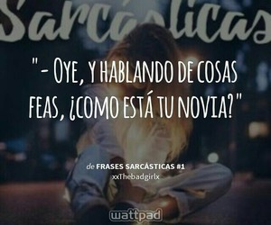 frases, sarcasmo, and tumblr image