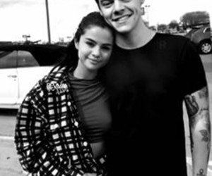 couple, Relationship, and selena gomez image