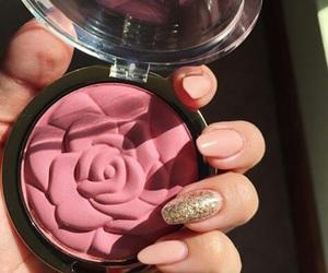 blush, makeup, and beautiful image