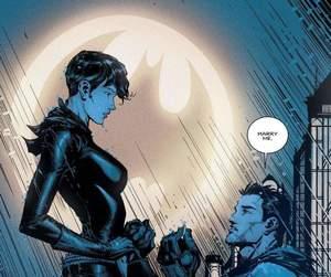 batman, bruce wayne, and catwoman image