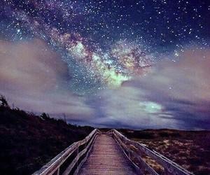 night lights space stars image