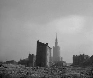 Poland, warsaw, and black and white image