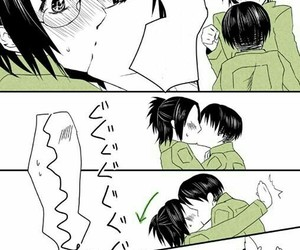 kiss, snk, and aot image