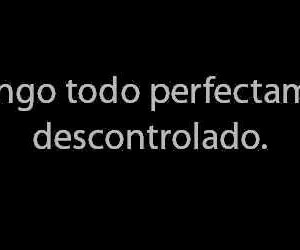 frases and descontrol image