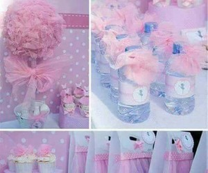 party, pink, and babyshower image
