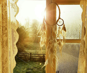 countryside, dreamcatcher, and light image