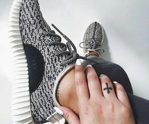 black ans white, yeezy, and модный image