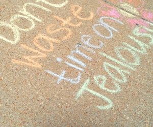 aesthetic, chalk, and colorful image