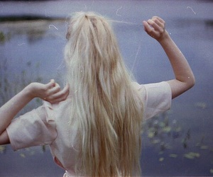 blonde, girl, and indie image